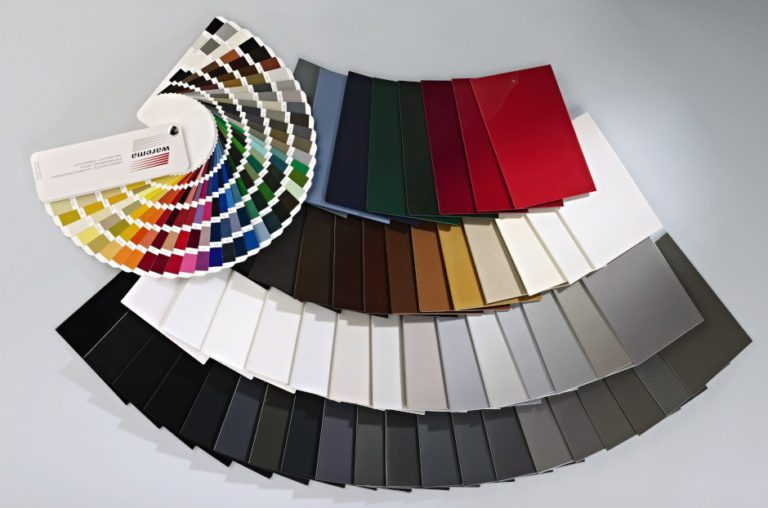 Farbpalette von Storentüchern