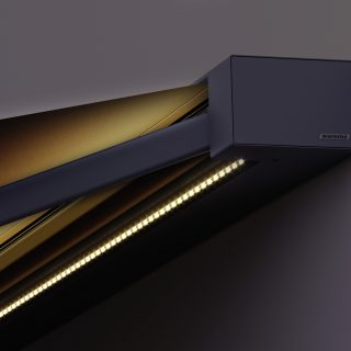 Elektrische Sonnenstoren mit LED